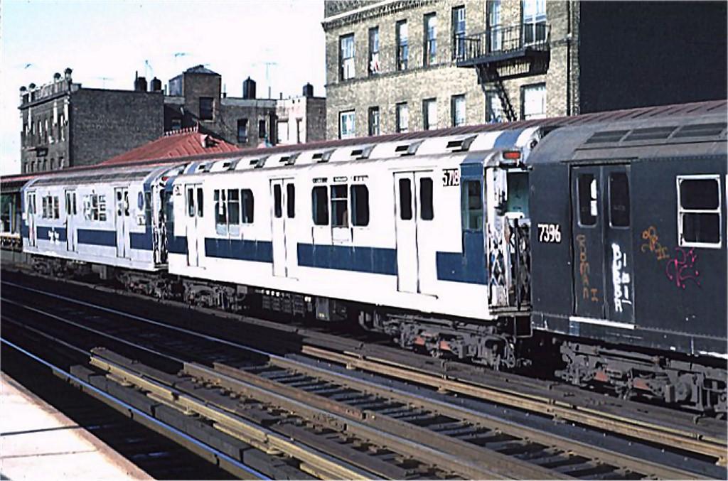 (201k, 1024x677)<br><b>Country:</b> United States<br><b>City:</b> New York<br><b>System:</b> New York City Transit<br><b>Line:</b> IRT West Side Line<br><b>Location:</b> 238th Street <br><b>Route:</b> 1<br><b>Car:</b> R-12 (American Car & Foundry, 1948) 5718 <br><b>Photo by:</b> Joe Testagrose<br><b>Date:</b> 6/10/1972<br><b>Viewed (this week/total):</b> 2 / 3219