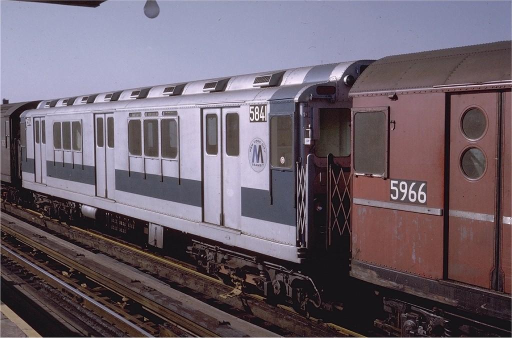(196k, 1024x676)<br><b>Country:</b> United States<br><b>City:</b> New York<br><b>System:</b> New York City Transit<br><b>Line:</b> IRT White Plains Road Line<br><b>Location:</b> 225th Street <br><b>Route:</b> 2<br><b>Car:</b> R-14 (American Car & Foundry, 1949) 5841 <br><b>Collection of:</b> Joe Testagrose<br><b>Date:</b> 2/6/1971<br><b>Viewed (this week/total):</b> 1 / 3356