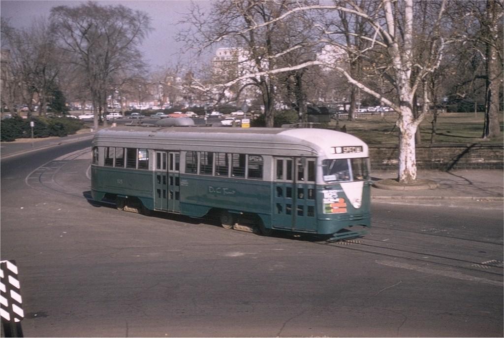 (186k, 1024x686)<br><b>Country:</b> United States<br><b>City:</b> Washington, D.C.<br><b>System:</b> D.C. Transit<br><b>Car:</b> PCC 1125 <br><b>Photo by:</b> Robert T. McVay<br><b>Collection of:</b> Joe Testagrose<br><b>Date:</b> 1960<br><b>Viewed (this week/total):</b> 0 / 3355