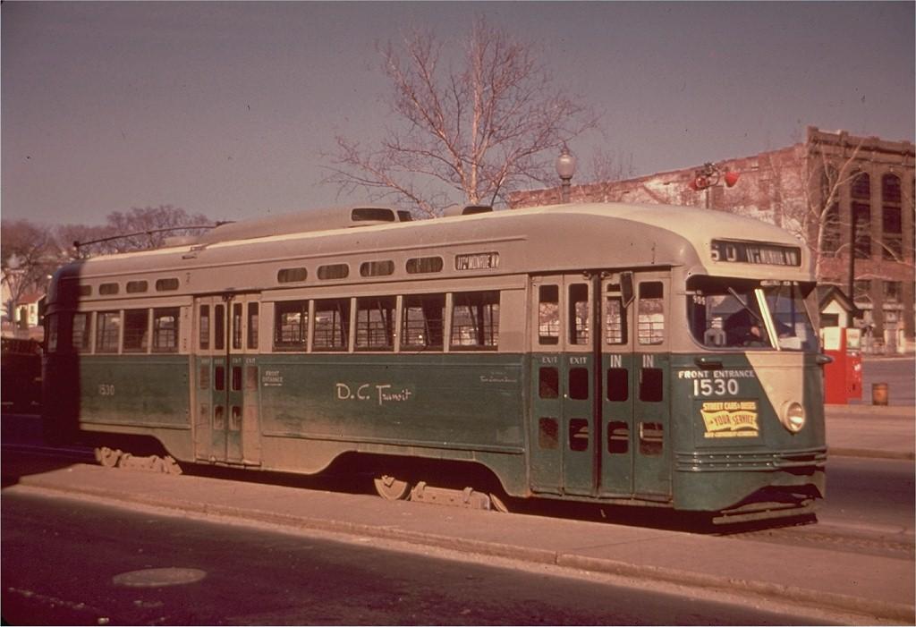 (162k, 1024x701)<br><b>Country:</b> United States<br><b>City:</b> Washington, D.C.<br><b>System:</b> D.C. Transit<br><b>Route:</b> Rt.60<br><b>Car:</b> PCC 1530 <br><b>Collection of:</b> Joe Testagrose<br><b>Viewed (this week/total):</b> 5 / 2018