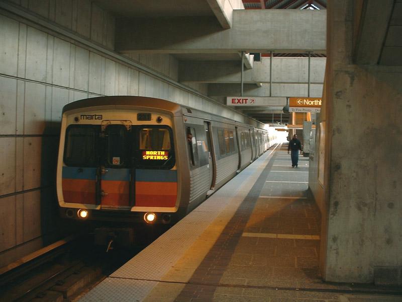 (121k, 800x600)<br><b>Country:</b> United States<br><b>City:</b> Atlanta, GA<br><b>System:</b> MARTA<br><b>Line:</b> North-South Line <br><b>Location:</b> East Point <br><b>Car:</b> MARTA 231 <br><b>Photo by:</b> Robert Ferreira<br><b>Date:</b> 3/29/2002<br><b>Viewed (this week/total):</b> 1 / 2613