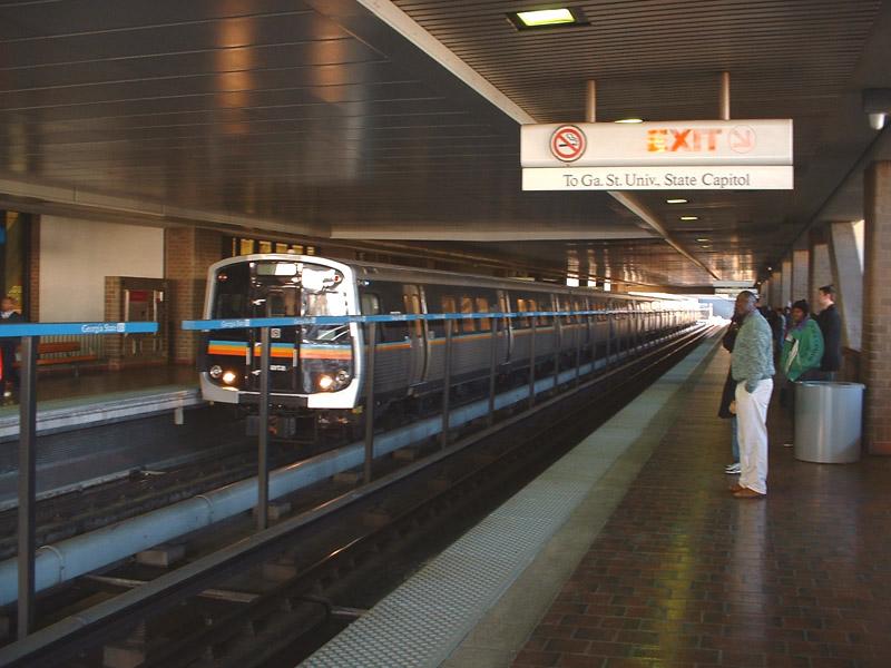 (138k, 800x600)<br><b>Country:</b> United States<br><b>City:</b> Atlanta, GA<br><b>System:</b> MARTA<br><b>Line:</b> East-West Line <br><b>Location:</b> Georgia State <br><b>Photo by:</b> Robert Ferreira<br><b>Date:</b> 3/22/2002<br><b>Viewed (this week/total):</b> 0 / 4350