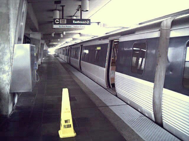 (114k, 640x480)<br><b>Country:</b> United States<br><b>City:</b> Atlanta, GA<br><b>System:</b> MARTA<br><b>Line:</b> East-West Line <br><b>Location:</b> Hamilton E. Holmes <br><b>Photo by:</b> Robert Ferreira<br><b>Date:</b> 2000<br><b>Viewed (this week/total):</b> 1 / 2416