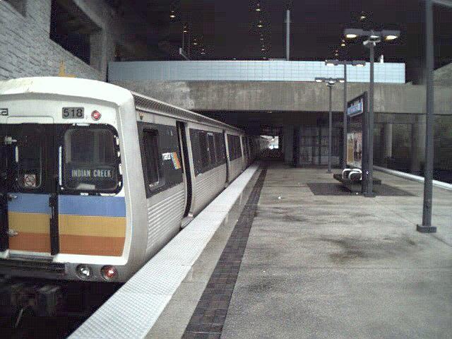 (113k, 640x480)<br><b>Country:</b> United States<br><b>City:</b> Atlanta, GA<br><b>System:</b> MARTA<br><b>Line:</b> East-West Line <br><b>Location:</b> Indian Creek <br><b>Car:</b> MARTA CQ310 518 <br><b>Photo by:</b> Robert Ferreira<br><b>Date:</b> 2000<br><b>Viewed (this week/total):</b> 2 / 2460