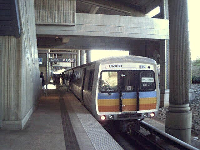 (73k, 640x480)<br><b>Country:</b> United States<br><b>City:</b> Atlanta, GA<br><b>System:</b> MARTA<br><b>Line:</b> East-West Line <br><b>Location:</b> Kensington <br><b>Car:</b> MARTA CQ310 179 <br><b>Photo by:</b> Robert Ferreira<br><b>Viewed (this week/total):</b> 0 / 2219