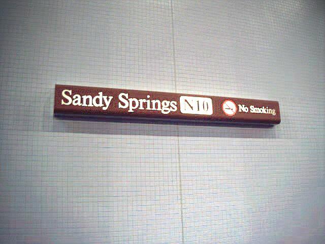 (97k, 640x480)<br><b>Country:</b> United States<br><b>City:</b> Atlanta, GA<br><b>System:</b> MARTA<br><b>Line:</b> North Springs Branch <br><b>Location:</b> Sandy Springs <br><b>Photo by:</b> Robert Ferreira<br><b>Date:</b> 12/16/2000<br><b>Viewed (this week/total):</b> 0 / 1894