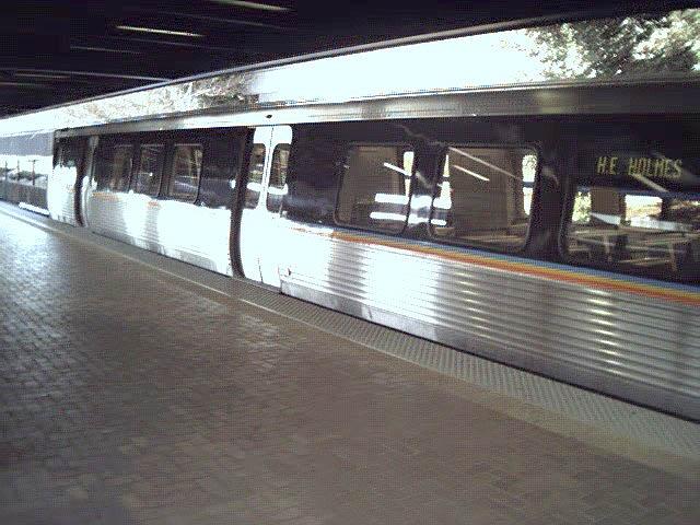 (74k, 640x480)<br><b>Country:</b> United States<br><b>City:</b> Atlanta, GA<br><b>System:</b> MARTA<br><b>Line:</b> East-West Line <br><b>Location:</b> Avondale <br><b>Car:</b> MARTA CQ312 609 <br><b>Photo by:</b> Robert Ferreira<br><b>Date:</b> 12/18/2000<br><b>Notes:</b> Exterior of car<br><b>Viewed (this week/total):</b> 0 / 2390