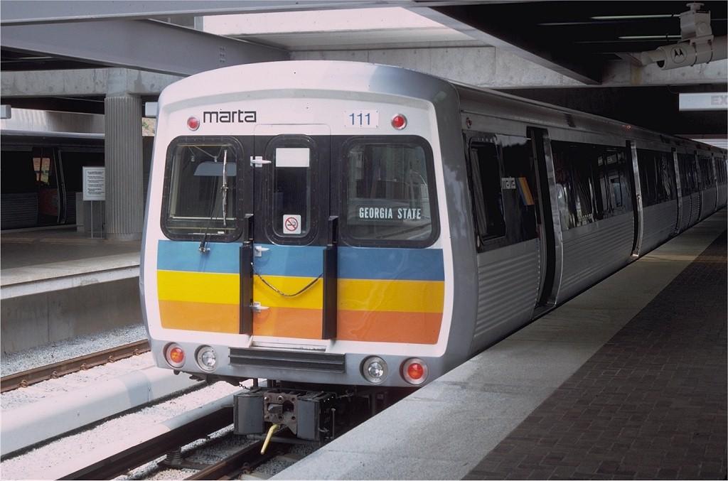 (164k, 1024x677)<br><b>Country:</b> United States<br><b>City:</b> Atlanta, GA<br><b>System:</b> MARTA<br><b>Line:</b> East-West Line <br><b>Location:</b> Avondale <br><b>Car:</b> MARTA CQ310 111 <br><b>Photo by:</b> Doug Grotjahn<br><b>Collection of:</b> Joe Testagrose<br><b>Date:</b> 8/9/1979<br><b>Viewed (this week/total):</b> 1 / 2531