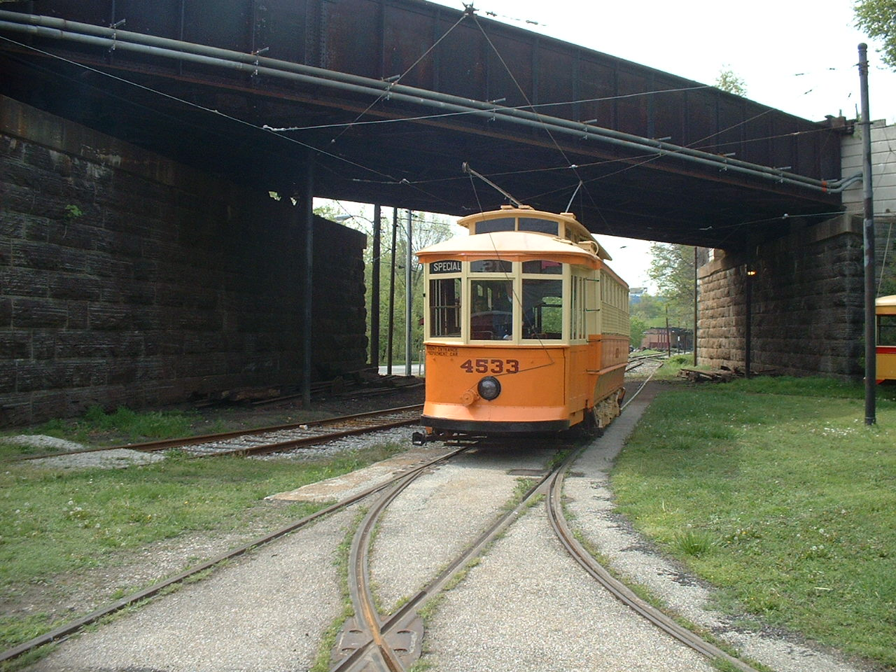 (296k, 1280x960)<br><b>Country:</b> United States<br><b>City:</b> Baltimore, MD<br><b>System:</b> Baltimore Streetcar Museum <br><b>Car:</b>  4533 <br><b>Photo by:</b> Dan Lawrence<br><b>Date:</b> 4/27/2002<br><b>Viewed (this week/total):</b> 0 / 2424