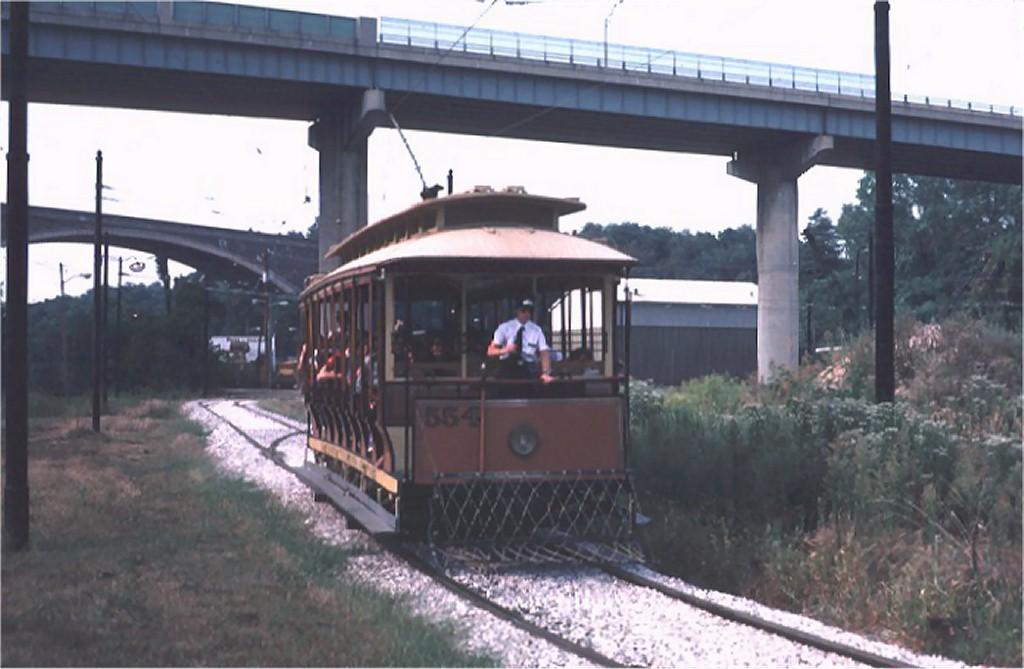 (141k, 1024x669)<br><b>Country:</b> United States<br><b>City:</b> Baltimore, MD<br><b>System:</b> Baltimore Streetcar Museum <br><b>Car:</b>  554 <br><b>Photo by:</b> Steve Zabel<br><b>Collection of:</b> Joe Testagrose<br><b>Date:</b> 9/14/1980<br><b>Viewed (this week/total):</b> 0 / 1818
