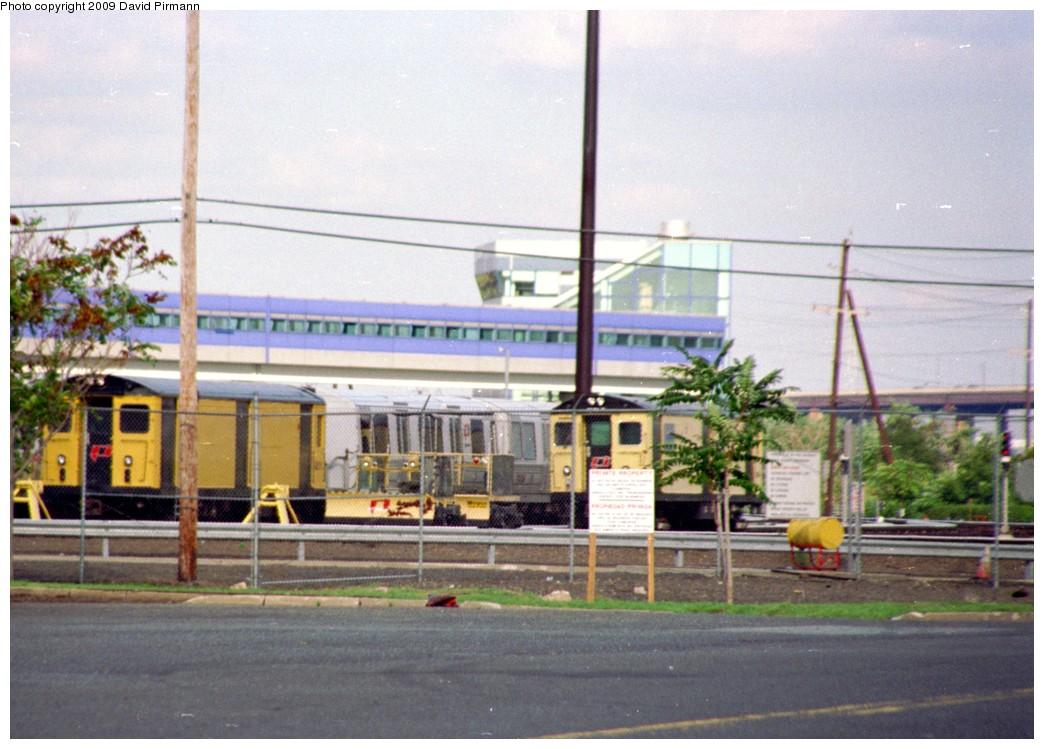 (189k, 1044x749)<br><b>Country:</b> United States<br><b>City:</b> Harrison, NJ<br><b>System:</b> PATH<br><b>Location:</b> Harrison Yard/Shop <br><b>Car:</b> H&M/PATH K-class  <br><b>Photo by:</b> David Pirmann<br><b>Date:</b> 9/14/1996<br><b>Notes:</b> PATH work cars in back of Harrison Yard<br><b>Viewed (this week/total):</b> 9 / 4749