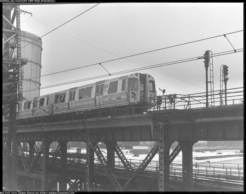 (141k, 949x749)<br><b>Country:</b> United States<br><b>City:</b> Newark, NJ<br><b>System:</b> PATH<br><b>Location:</b> Newark (Penn Station) <br><b>Car:</b> PATH PA-1 (St. Louis Car, 1965)  622 <br><b>Photo by:</b> Hank Eisenstein<br><b>Viewed (this week/total):</b> 0 / 5398