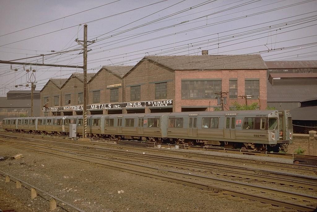 (246k, 1024x684)<br><b>Country:</b> United States<br><b>City:</b> Harrison, NJ<br><b>System:</b> PATH<br><b>Location:</b> Harrison <br><b>Car:</b> PATH PA-1 (St. Louis Car, 1965)  666 <br><b>Photo by:</b> Joe Testagrose<br><b>Date:</b> 8/1968<br><b>Viewed (this week/total):</b> 2 / 4795