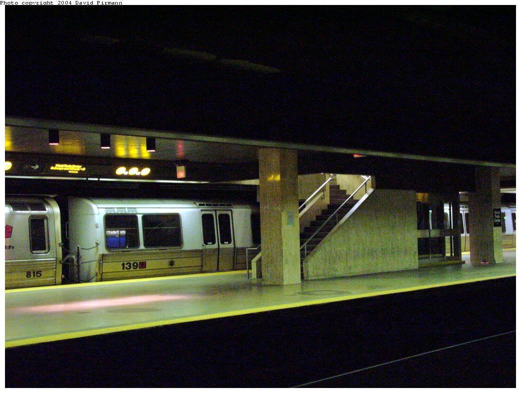(121k, 1044x788)<br><b>Country:</b> United States<br><b>City:</b> New York<br><b>System:</b> PATH<br><b>Location:</b> World Trade Center <br><b>Car:</b> PATH PA-1 (St. Louis Car, 1965)  139 <br><b>Photo by:</b> David Pirmann<br><b>Date:</b> 8/27/2000<br><b>Viewed (this week/total):</b> 7 / 6161