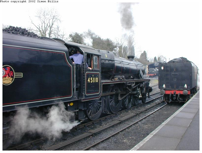 (77k, 820x620)<br><b>Country:</b> United Kingdom<br><b>System:</b> Severn Valley Railway <br><b>Photo by:</b> Simon Billis<br><b>Date:</b> 4/22/2001<br><b>Viewed (this week/total):</b> 0 / 1665