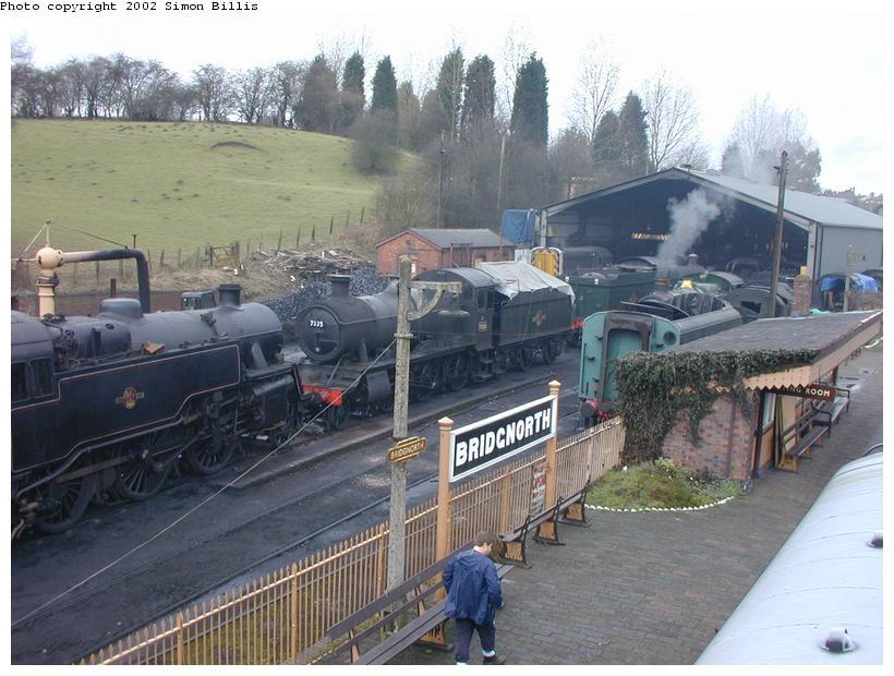(94k, 820x620)<br><b>Country:</b> United Kingdom<br><b>System:</b> Severn Valley Railway <br><b>Photo by:</b> Simon Billis<br><b>Date:</b> 4/22/2001<br><b>Viewed (this week/total):</b> 1 / 1795