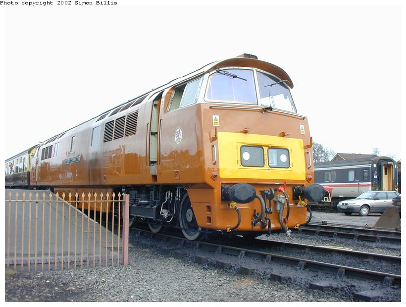 (81k, 820x620)<br><b>Country:</b> United Kingdom<br><b>System:</b> Severn Valley Railway <br><b>Photo by:</b> Simon Billis<br><b>Date:</b> 4/22/2001<br><b>Viewed (this week/total):</b> 0 / 1784