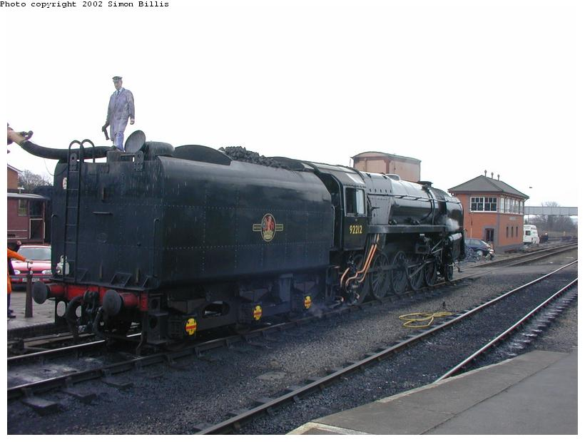(68k, 820x620)<br><b>Country:</b> United Kingdom<br><b>System:</b> Severn Valley Railway <br><b>Photo by:</b> Simon Billis<br><b>Date:</b> 4/22/2001<br><b>Viewed (this week/total):</b> 0 / 1951
