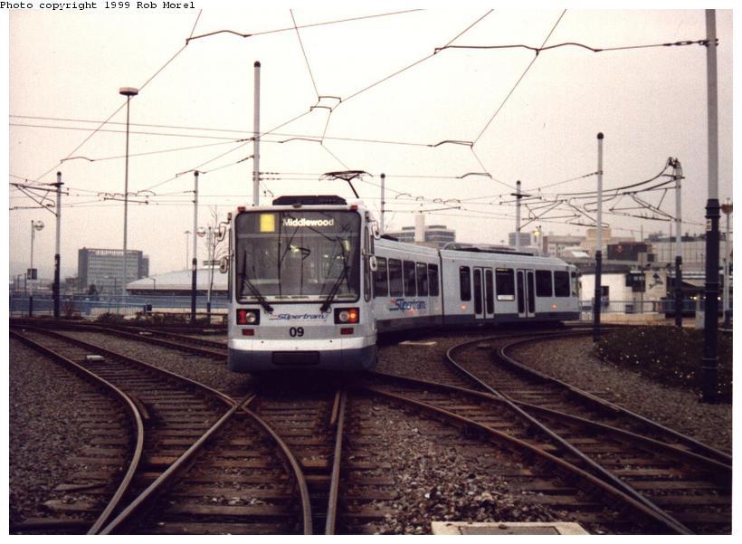(74k, 820x601)<br><b>Country:</b> United Kingdom<br><b>City:</b> Sheffield<br><b>System:</b> Sheffield Supertram<br><b>Photo by:</b> Rob Morel<br><b>Date:</b> 9/26/1999<br><b>Viewed (this week/total):</b> 0 / 3066