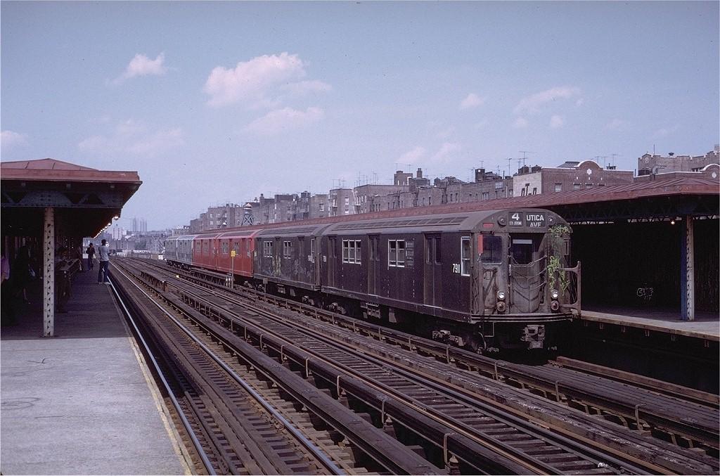 (223k, 1024x677)<br><b>Country:</b> United States<br><b>City:</b> New York<br><b>System:</b> New York City Transit<br><b>Line:</b> IRT Woodlawn Line<br><b>Location:</b> 170th Street <br><b>Route:</b> 4<br><b>Car:</b> R-28 (American Car & Foundry, 1960-61) 7911 <br><b>Photo by:</b> Steve Zabel<br><b>Collection of:</b> Joe Testagrose<br><b>Date:</b> 7/23/1972<br><b>Viewed (this week/total):</b> 1 / 3210