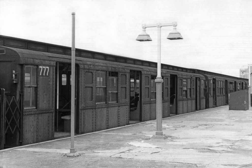 (211k, 1024x683)<br><b>Country:</b> United States<br><b>City:</b> New York<br><b>System:</b> New York City Transit<br><b>Location:</b> Coney Island/Stillwell Avenue<br><b>Car:</b> R-4 (American Car & Foundry, 1932-1933) 777 <br><b>Collection of:</b> David Pirmann<br><b>Viewed (this week/total):</b> 0 / 3360