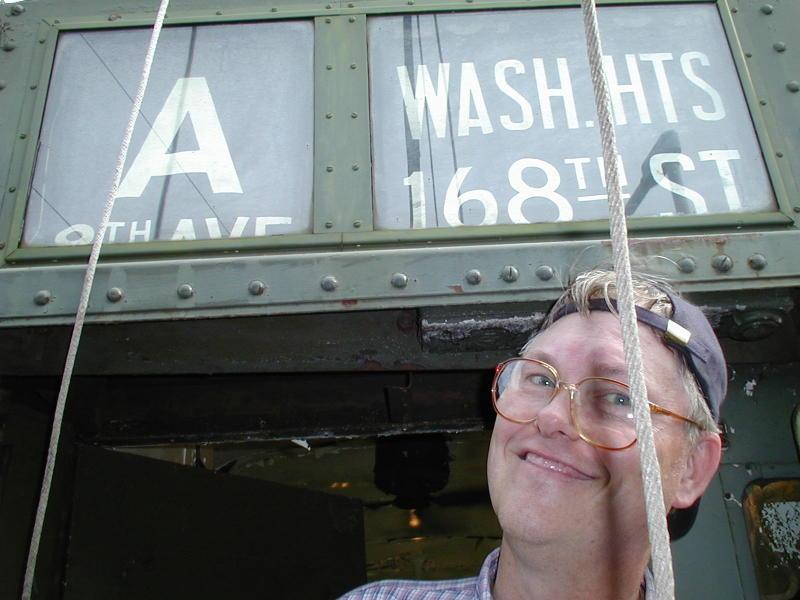 (70k, 800x600)<br><b>Country:</b> United States<br><b>City:</b> Kennebunk, ME<br><b>System:</b> Seashore Trolley Museum <br><b>Photo by:</b> Todd Glickman<br><b>Date:</b> 7/15/2000<br><b>Notes:</b> Thurston takes the A train!<br><b>Viewed (this week/total):</b> 1 / 4405