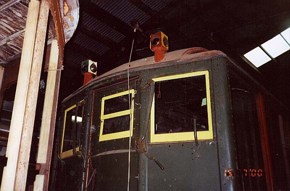 (44k, 579x381)<br><b>Country:</b> United States<br><b>City:</b> Kennebunk, ME<br><b>System:</b> Seashore Trolley Museum <br><b>Car:</b> Hi-V 3352 <br><b>Photo by:</b> Thurston Clark<br><b>Date:</b> 7/15/2000<br><b>Viewed (this week/total):</b> 0 / 3124