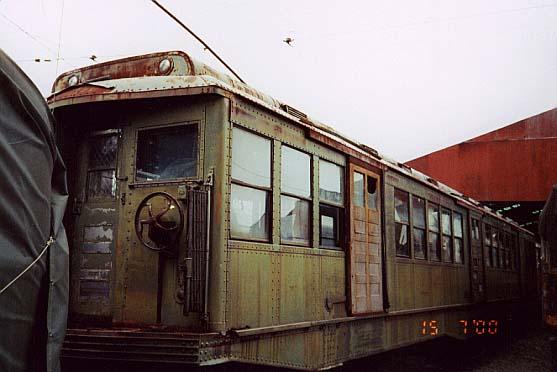 (37k, 557x372)<br><b>Country:</b> United States<br><b>City:</b> Kennebunk, ME<br><b>System:</b> Seashore Trolley Museum <br><b>Car:</b> MBTA 0700 Series Cambridge-Dorchester (Osgood-Bradley, 1927)  0719 <br><b>Photo by:</b> Thurston Clark<br><b>Date:</b> 7/15/2000<br><b>Notes:</b> Boston Subway, Cambridge-Dorchester (Red Line) Tunnel Car #0719, mfg 1927 by Osgood-Bradley<br><b>Viewed (this week/total):</b> 0 / 1975