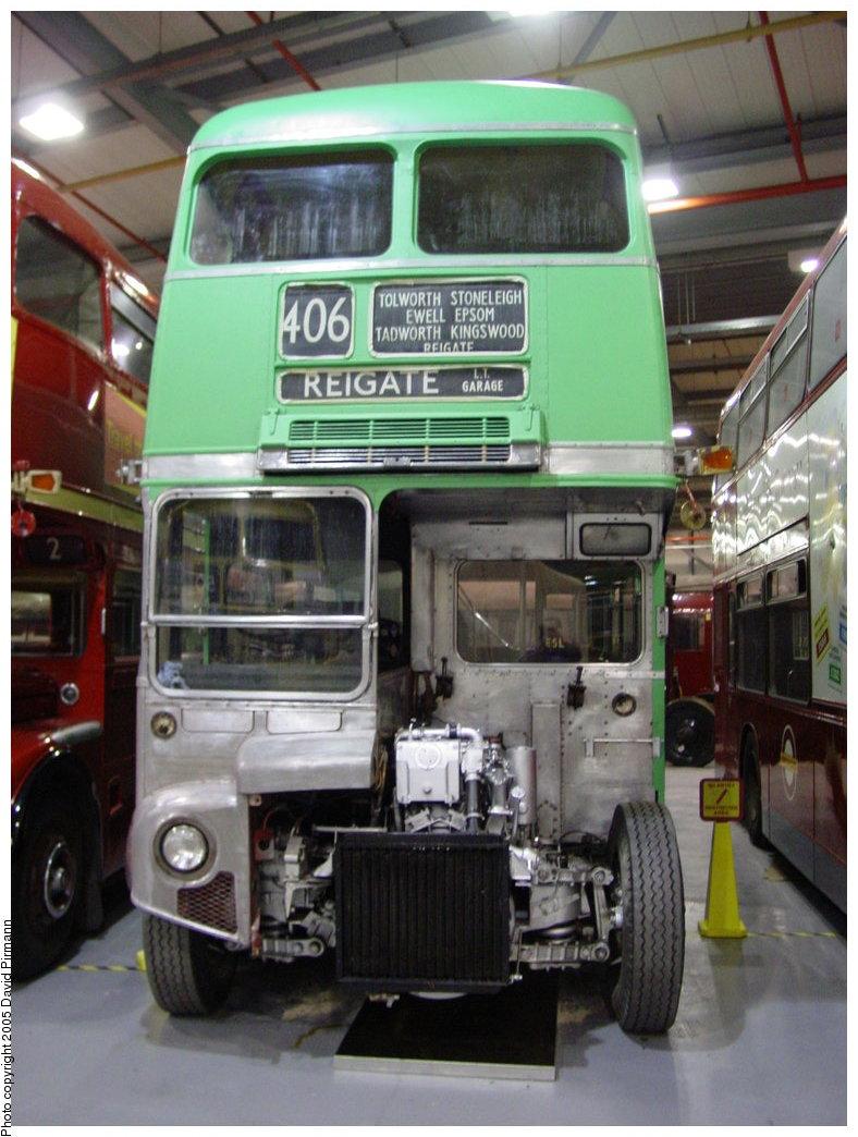 (167k, 788x1044)<br><b>Country:</b> United Kingdom<br><b>City:</b> London<br><b>System:</b> London Underground<br><b>Location:</b> Acton Museum Depot<br><b>Photo by:</b> David Pirmann<br><b>Date:</b> 2/28/2003<br><b>Notes:</b> View of bus shed<br><b>Viewed (this week/total):</b> 0 / 1919