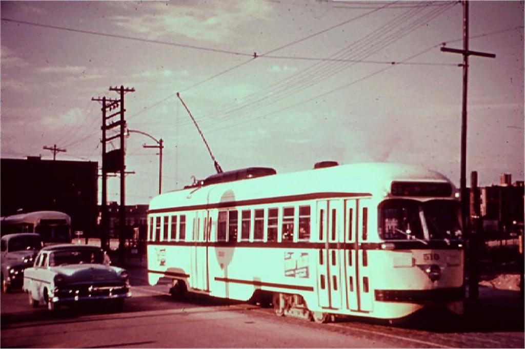 (134k, 1024x681)<br><b>Country:</b> United States<br><b>City:</b> Kansas City, MO<br><b>System:</b> Kansas City Public Service<br><b>Route:</b> Rt. 55<br><b>Car:</b> PCC 510 <br><b>Collection of:</b> Joe Testagrose<br><b>Viewed (this week/total):</b> 0 / 12490