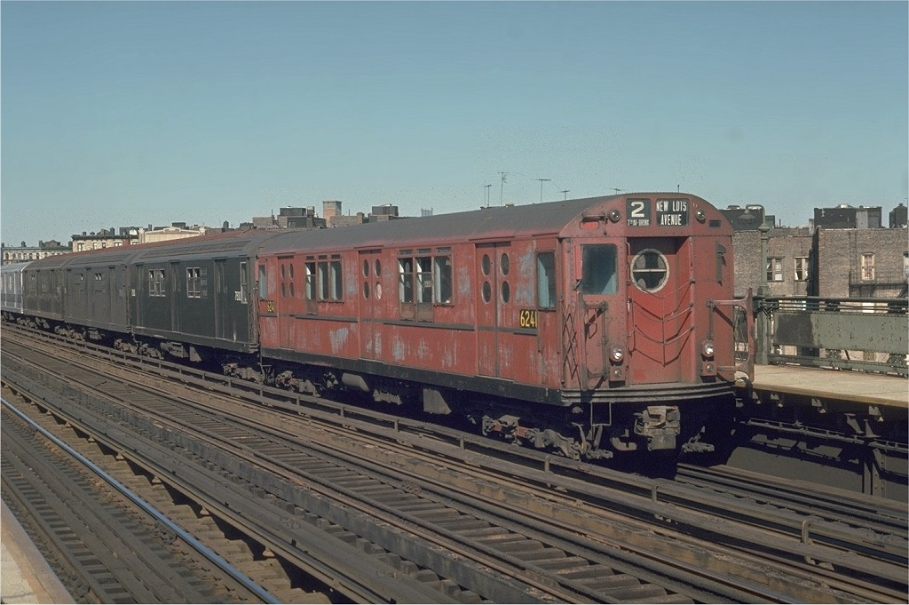 (178k, 1024x681)<br><b>Country:</b> United States<br><b>City:</b> New York<br><b>System:</b> New York City Transit<br><b>Line:</b> IRT White Plains Road Line<br><b>Location:</b> Intervale Avenue <br><b>Route:</b> 2<br><b>Car:</b> R-15 (American Car & Foundry, 1950) 6241 <br><b>Photo by:</b> Joe Testagrose<br><b>Date:</b> 5/30/1970<br><b>Viewed (this week/total):</b> 0 / 2703