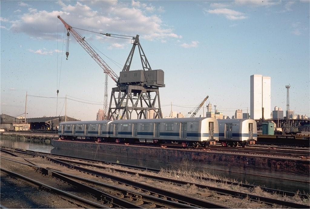 (211k, 1024x691)<br><b>Country:</b> United States<br><b>City:</b> Hoboken, NJ<br><b>System:</b> New York City Transit<br><b>Location:</b> Hoboken Yard <br><b>Car:</b> R-46 (Pullman-Standard, 1974-75) 629 <br><b>Photo by:</b> Steve Zabel<br><b>Collection of:</b> Joe Testagrose<br><b>Date:</b> 5/3/1976<br><b>Viewed (this week/total):</b> 1 / 5224