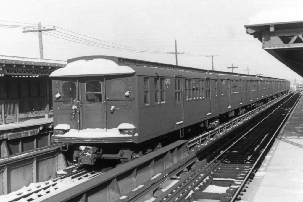 (200k, 1024x683)<br><b>Country:</b> United States<br><b>City:</b> New York<br><b>System:</b> New York City Transit<br><b>Line:</b> BMT West End Line<br><b>Location:</b> Bay 50th Street <br><b>Route:</b> Fan Trip<br><b>Car:</b> BMT D-Type Triplex 6093 <br><b>Collection of:</b> David Pirmann<br><b>Viewed (this week/total):</b> 0 / 3296