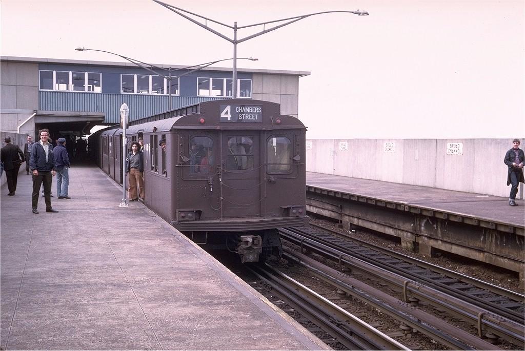 (209k, 1024x685)<br><b>Country:</b> United States<br><b>City:</b> New York<br><b>System:</b> New York City Transit<br><b>Line:</b> IND Rockaway<br><b>Location:</b> Broad Channel <br><b>Route:</b> Fan Trip<br><b>Car:</b> BMT D-Type Triplex 6095 <br><b>Photo by:</b> Steve Zabel<br><b>Collection of:</b> Joe Testagrose<br><b>Date:</b> 5/13/1976<br><b>Viewed (this week/total):</b> 3 / 3381