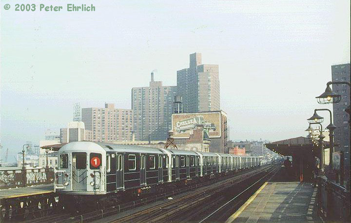 (124k, 720x457)<br><b>Country:</b> United States<br><b>City:</b> New York<br><b>System:</b> New York City Transit<br><b>Line:</b> IRT West Side Line<br><b>Location:</b> 125th Street <br><b>Route:</b> 1<br><b>Car:</b> R-62A (Bombardier, 1984-1987)  1853 <br><b>Photo by:</b> Peter Ehrlich<br><b>Date:</b> 10/23/1986<br><b>Viewed (this week/total):</b> 2 / 6546
