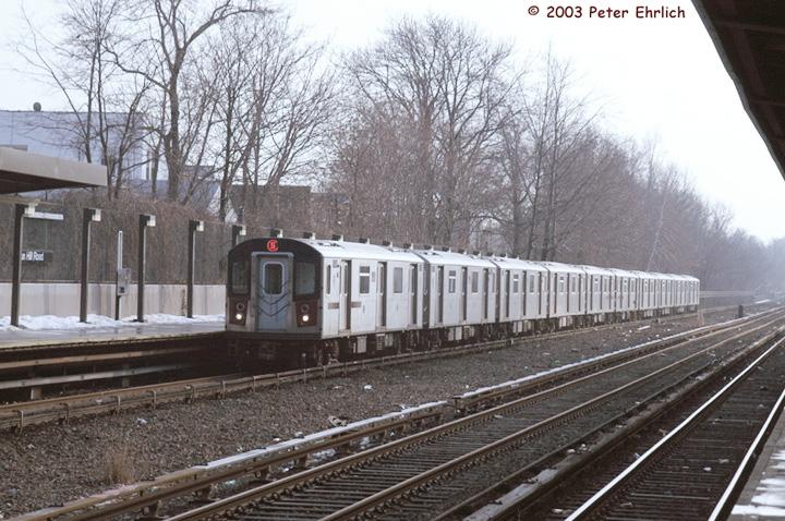 (174k, 720x478)<br><b>Country:</b> United States<br><b>City:</b> New York<br><b>System:</b> New York City Transit<br><b>Line:</b> IRT Dyre Ave. Line<br><b>Location:</b> Gun Hill Road <br><b>Route:</b> 5<br><b>Car:</b> R-142 (Primary Order, Bombardier, 1999-2002)  6391 <br><b>Photo by:</b> Peter Ehrlich<br><b>Date:</b> 3/5/2003<br><b>Viewed (this week/total):</b> 0 / 5538