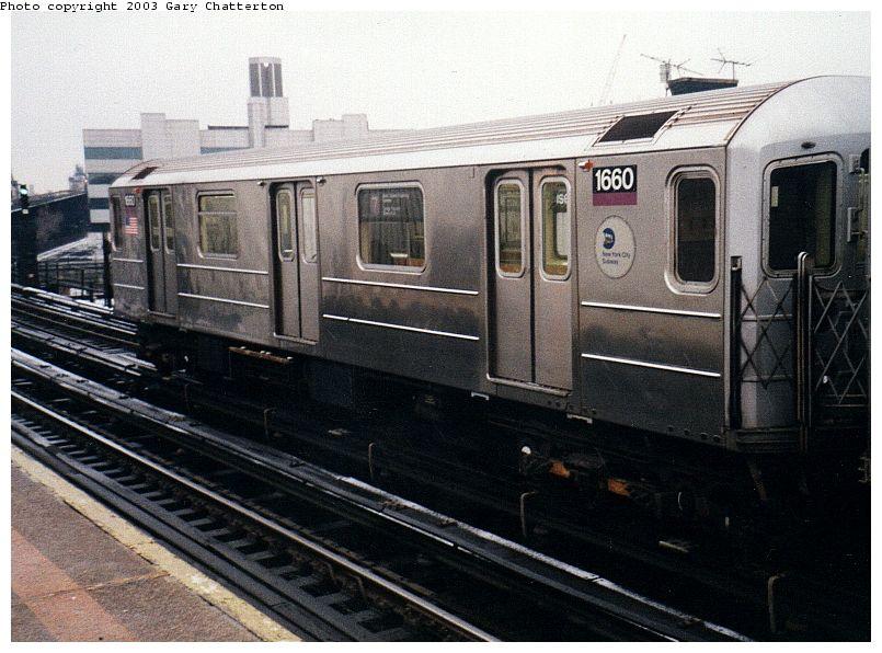 (95k, 805x596)<br><b>Country:</b> United States<br><b>City:</b> New York<br><b>System:</b> New York City Transit<br><b>Line:</b> IRT Flushing Line<br><b>Location:</b> Court House Square/45th Road <br><b>Route:</b> 7<br><b>Car:</b> R-62A (Bombardier, 1984-1987)  1660 <br><b>Photo by:</b> Gary Chatterton<br><b>Date:</b> 1/2003<br><b>Viewed (this week/total):</b> 0 / 3241