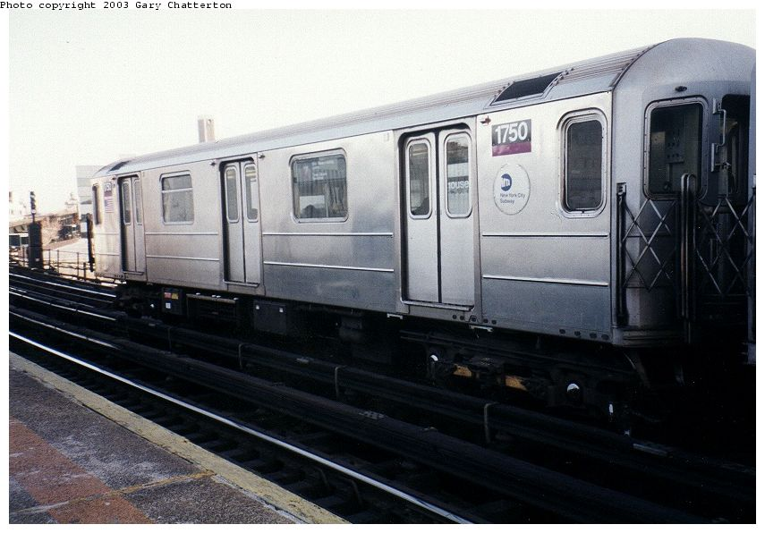 (85k, 855x596)<br><b>Country:</b> United States<br><b>City:</b> New York<br><b>System:</b> New York City Transit<br><b>Line:</b> IRT Flushing Line<br><b>Location:</b> Court House Square/45th Road <br><b>Route:</b> 7<br><b>Car:</b> R-62A (Bombardier, 1984-1987)  1750 <br><b>Photo by:</b> Gary Chatterton<br><b>Date:</b> 1/2003<br><b>Viewed (this week/total):</b> 0 / 2471