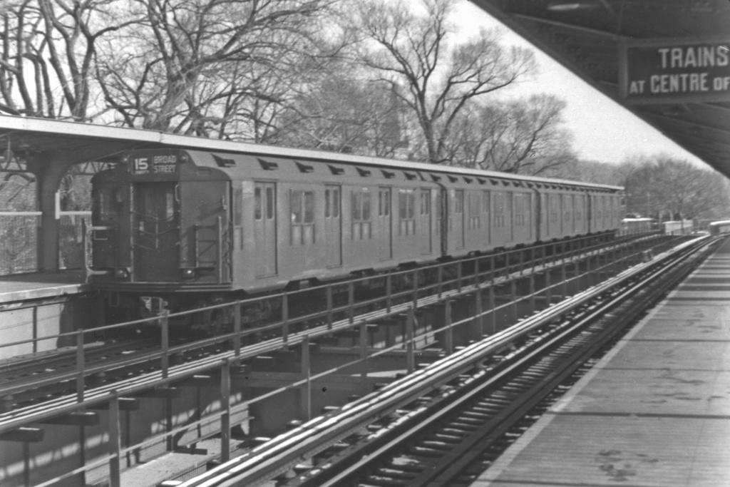 (225k, 1024x683)<br><b>Country:</b> United States<br><b>City:</b> New York<br><b>System:</b> New York City Transit<br><b>Line:</b> BMT Nassau Street/Jamaica Line<br><b>Location:</b> Cypress Hills <br><b>Route:</b> BMT 15<br><b>Car:</b> R-10 (American Car & Foundry, 1948)  <br><b>Collection of:</b> David Pirmann<br><b>Viewed (this week/total):</b> 0 / 4116