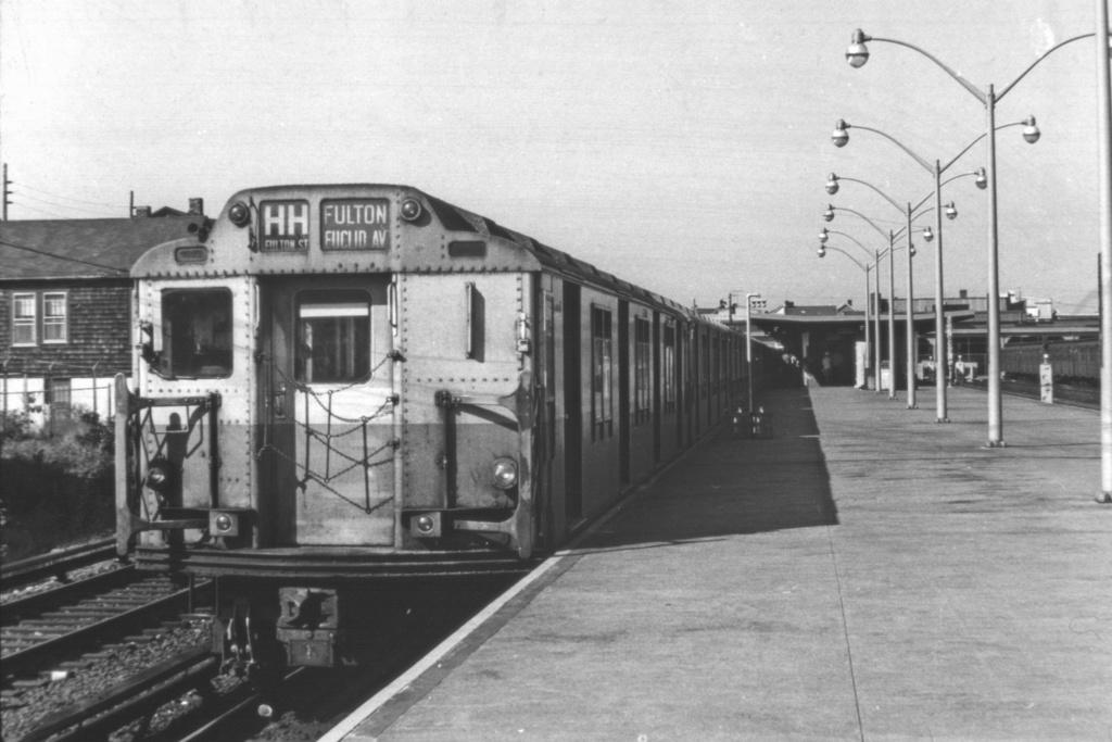 (217k, 1024x683)<br><b>Country:</b> United States<br><b>City:</b> New York<br><b>System:</b> New York City Transit<br><b>Line:</b> IND Rockaway<br><b>Location:</b> Rockaway Park/Beach 116th Street <br><b>Route:</b> HH<br><b>Car:</b> R-10 (American Car & Foundry, 1948)  <br><b>Collection of:</b> David Pirmann<br><b>Viewed (this week/total):</b> 0 / 4220