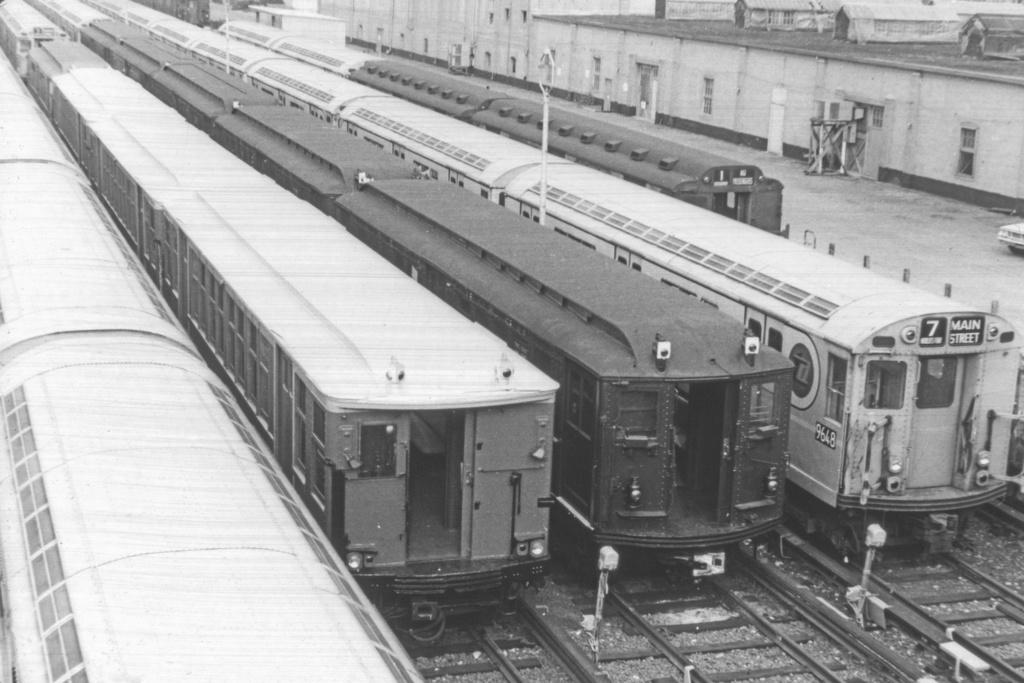 (331k, 1044x710)<br><b>Country:</b> United States<br><b>City:</b> New York<br><b>System:</b> New York City Transit<br><b>Location:</b> Corona Yard<br><b>Car:</b> R-36 World's Fair (St. Louis, 1963-64) 9648 <br><b>Collection of:</b> David Pirmann<br><b>Viewed (this week/total):</b> 1 / 3288