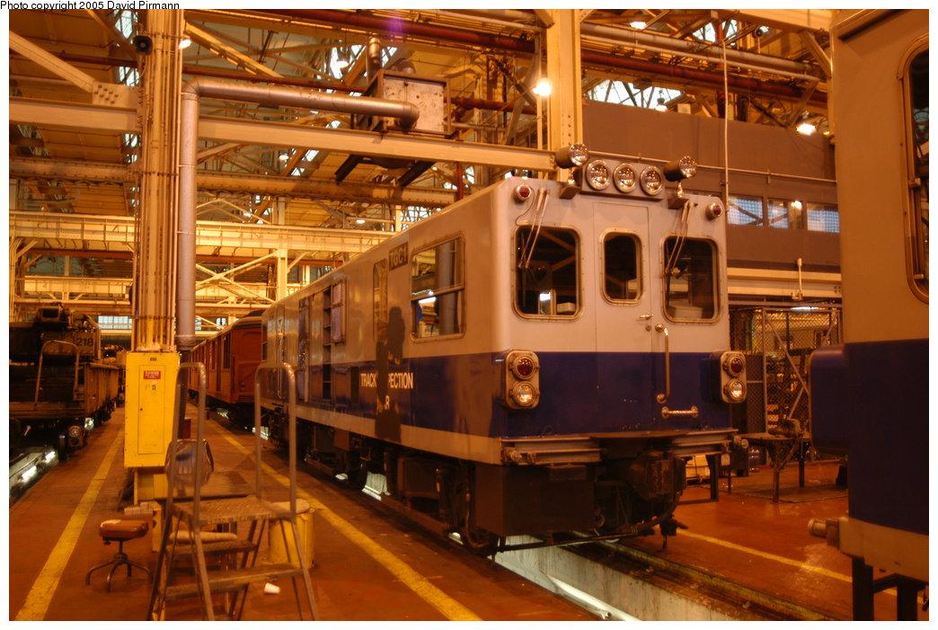 (216k, 1044x701)<br><b>Country:</b> United States<br><b>City:</b> New York<br><b>System:</b> New York City Transit<br><b>Location:</b> Coney Island Shop/Overhaul & Repair Shop<br><b>Car:</b> Track Geometry Car TGC1 <br><b>Photo by:</b> David Pirmann<br><b>Date:</b> 4/5/2003<br><b>Viewed (this week/total):</b> 1 / 4596