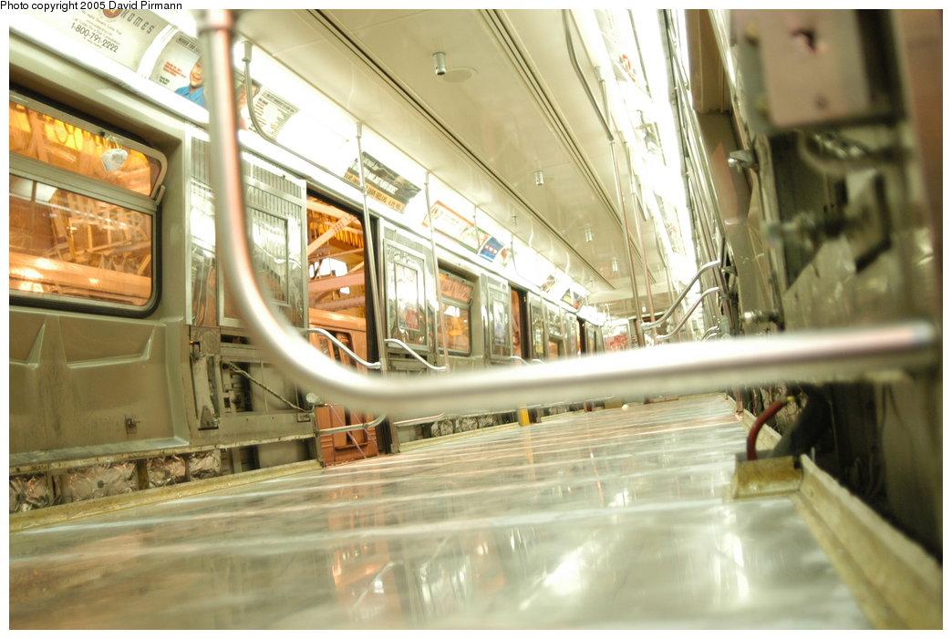 (193k, 1044x701)<br><b>Country:</b> United States<br><b>City:</b> New York<br><b>System:</b> New York City Transit<br><b>Location:</b> Coney Island Shop/Overhaul & Repair Shop<br><b>Car:</b> R-68/R-68A Series (Number Unknown)  <br><b>Photo by:</b> David Pirmann<br><b>Date:</b> 4/5/2003<br><b>Viewed (this week/total):</b> 2 / 5801
