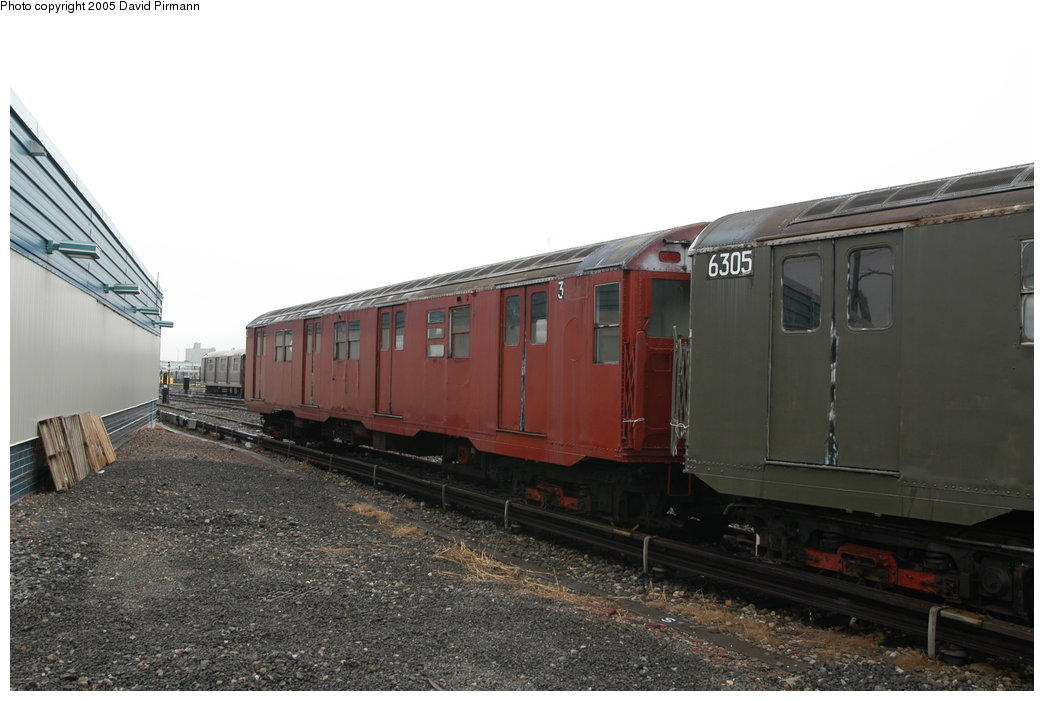 (168k, 1044x701)<br><b>Country:</b> United States<br><b>City:</b> New York<br><b>System:</b> New York City Transit<br><b>Location:</b> Coney Island Yard-Museum Yard<br><b>Car:</b> R-16 (American Car & Foundry, 1955) 6339 <br><b>Photo by:</b> David Pirmann<br><b>Date:</b> 4/5/2003<br><b>Viewed (this week/total):</b> 3 / 7879