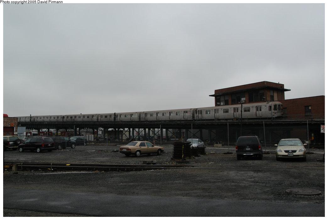 (122k, 1044x701)<br><b>Country:</b> United States<br><b>City:</b> New York<br><b>System:</b> New York City Transit<br><b>Location:</b> Coney Island Yard<br><b>Route:</b> F<br><b>Car:</b> R-46 (Pullman-Standard, 1974-75) 5960 <br><b>Photo by:</b> David Pirmann<br><b>Date:</b> 4/5/2003<br><b>Viewed (this week/total):</b> 2 / 5160