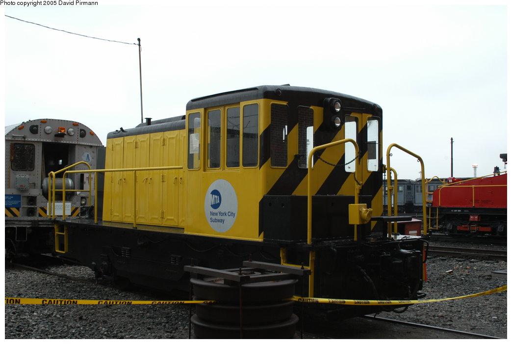 (162k, 1044x701)<br><b>Country:</b> United States<br><b>City:</b> New York<br><b>System:</b> New York City Transit<br><b>Location:</b> Coney Island Yard-Museum Yard<br><b>Car:</b> GE 70-ton Locomotive (orig. for Speno Train)  10 <br><b>Photo by:</b> David Pirmann<br><b>Date:</b> 4/5/2003<br><b>Viewed (this week/total):</b> 2 / 5866