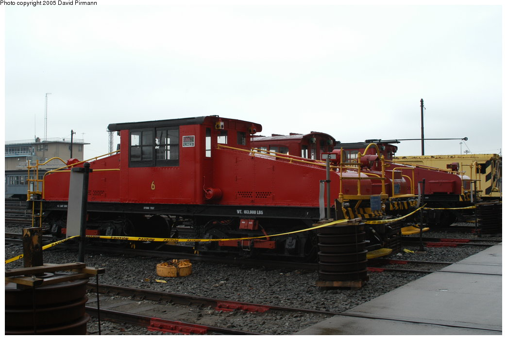 (159k, 1044x701)<br><b>Country:</b> United States<br><b>City:</b> New York<br><b>System:</b> New York City Transit<br><b>Location:</b> Coney Island Yard-Museum Yard<br><b>Car:</b> SBK Steeplecab 6 <br><b>Photo by:</b> David Pirmann<br><b>Date:</b> 4/5/2003<br><b>Viewed (this week/total):</b> 1 / 2970