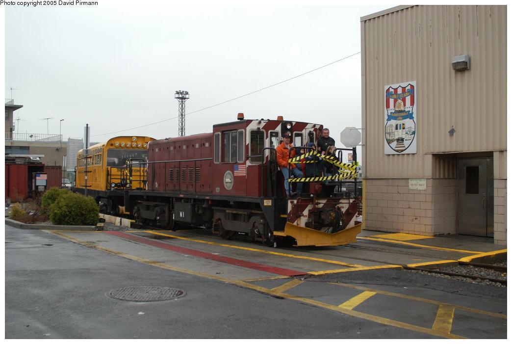 (164k, 1044x701)<br><b>Country:</b> United States<br><b>City:</b> New York<br><b>System:</b> New York City Transit<br><b>Location:</b> Coney Island Yard<br><b>Car:</b> R-47 (SBK) Locomotive  N1 <br><b>Photo by:</b> David Pirmann<br><b>Date:</b> 4/5/2003<br><b>Viewed (this week/total):</b> 2 / 3729