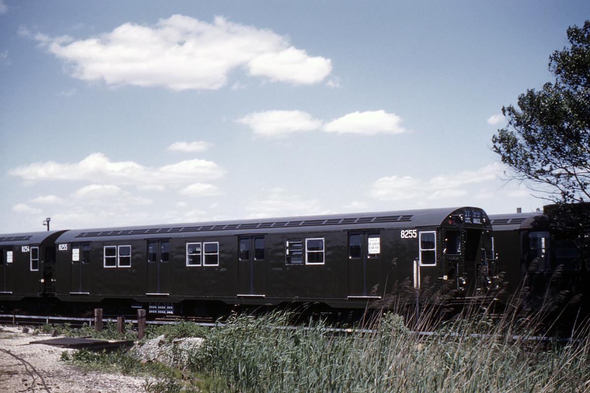 (419k, 1024x683)<br><b>Country:</b> United States<br><b>City:</b> New York<br><b>System:</b> New York City Transit<br><b>Location:</b> Coney Island Yard<br><b>Car:</b> R-30 (St. Louis, 1961) 8255 <br><b>Collection of:</b> David Pirmann<br><b>Date:</b> 5/30/1961<br><b>Viewed (this week/total):</b> 5 / 3994
