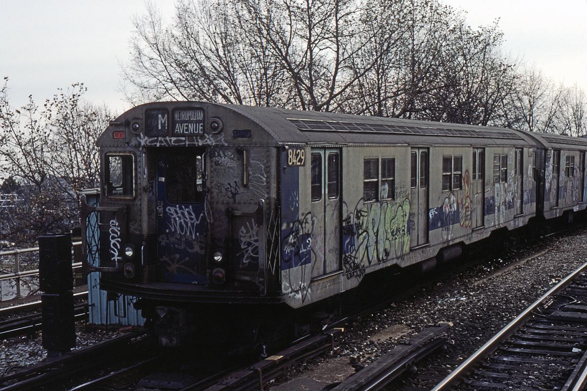 (449k, 1024x683)<br><b>Country:</b> United States<br><b>City:</b> New York<br><b>System:</b> New York City Transit<br><b>Line:</b> BMT Brighton Line<br><b>Location:</b> Sheepshead Bay <br><b>Route:</b> M<br><b>Car:</b> R-30 (St. Louis, 1961) 8429 <br><b>Collection of:</b> David Pirmann<br><b>Viewed (this week/total):</b> 0 / 4532